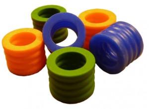 Medical rubber seals